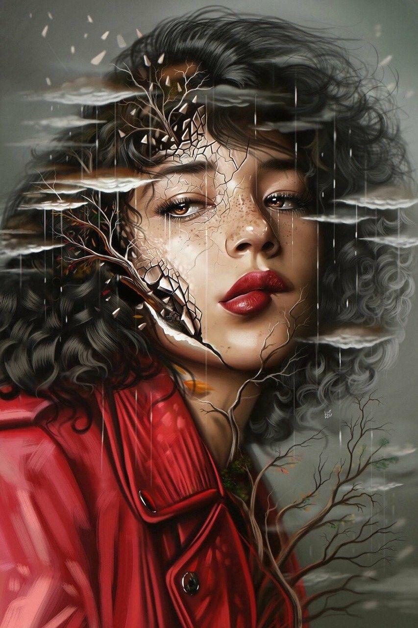ArtTLG #digitalart #artwork #wallpaper #drawing #art #colorful #painting #scifi #fantasy in 2020 | Contemporary art painting, Surealism art, Art painting