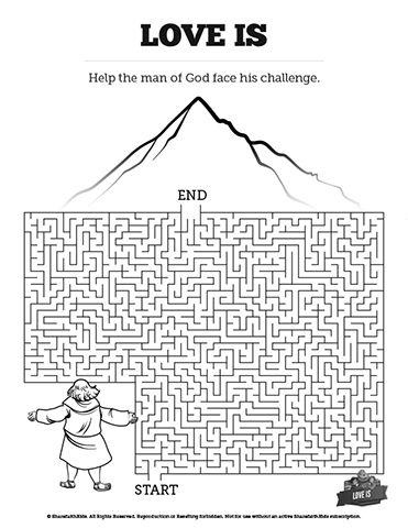 1 Corinthians 13 Love Is Bible Mazes: Featuring bold