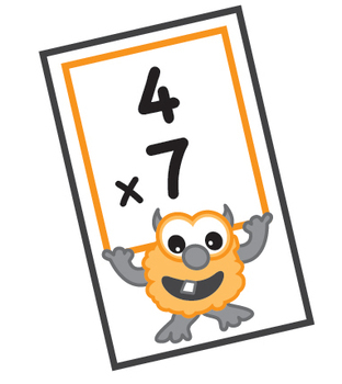 Multiplication Flash Cards By Science Demo Guy Tpt Multiplication Flashcards Flashcards Multiplication Facts