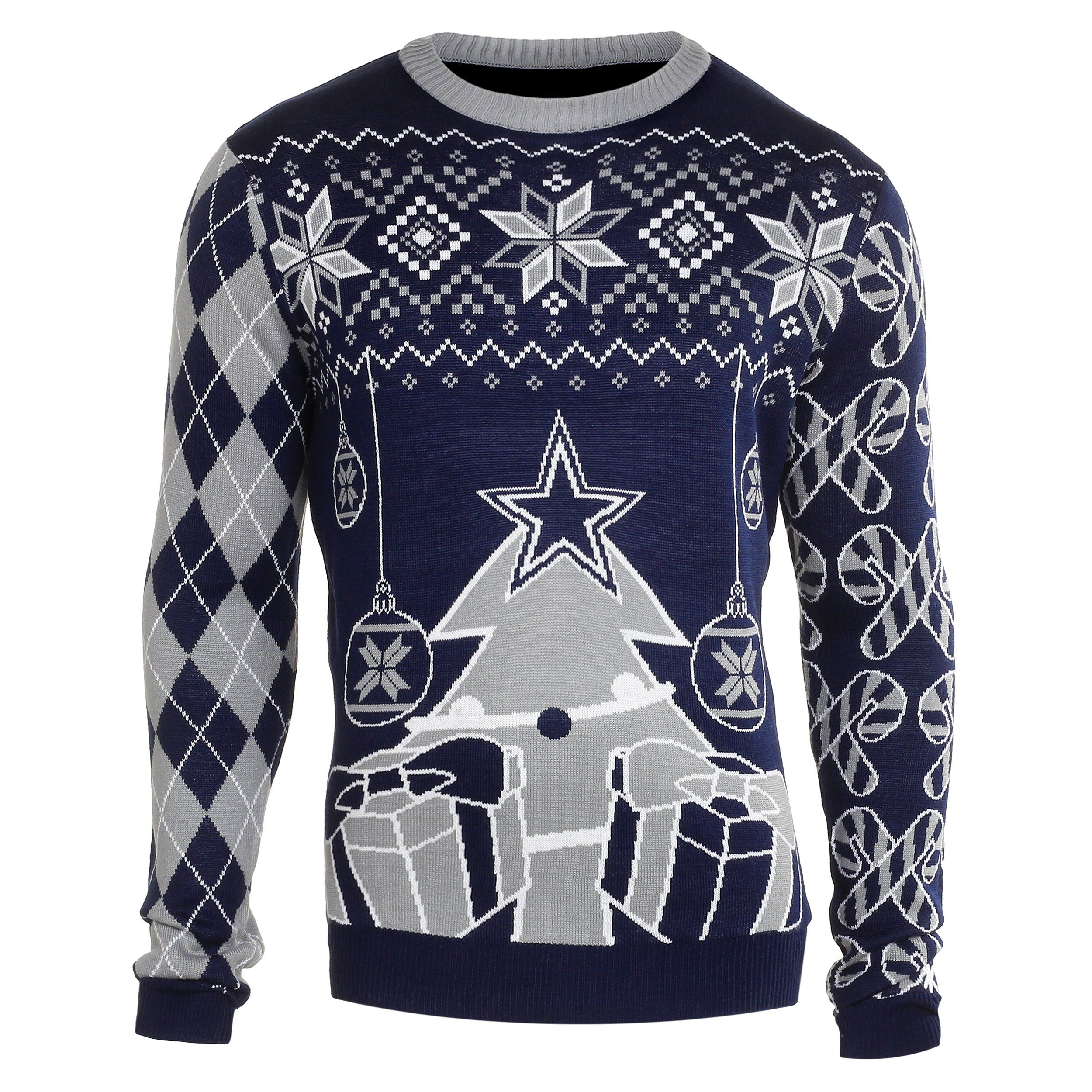 02cc3cbf3 Dallas Cowboys Ugly Christmas Sweaters. If you re going to be forced to  wear ugly Christmas sweaters
