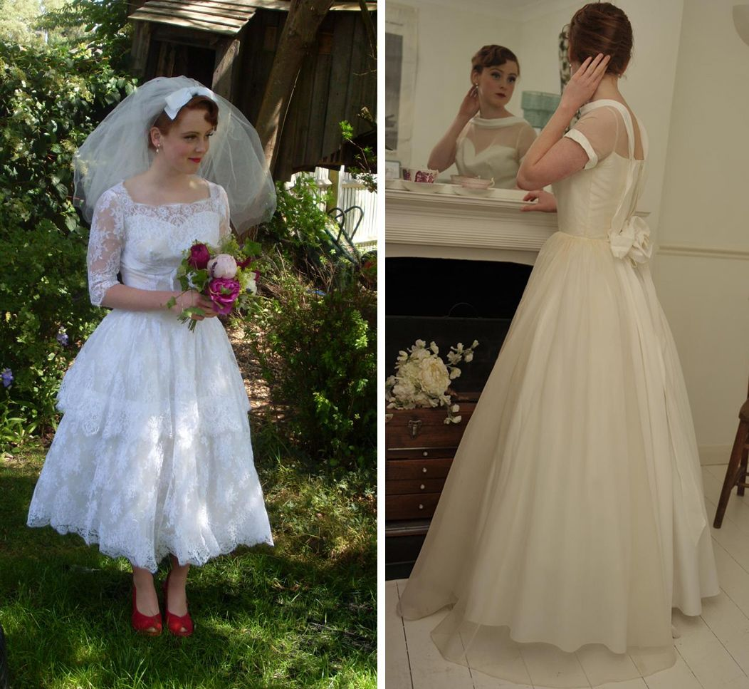1950s style wedding dresses | 1950s Vintage Dresses Uk ...