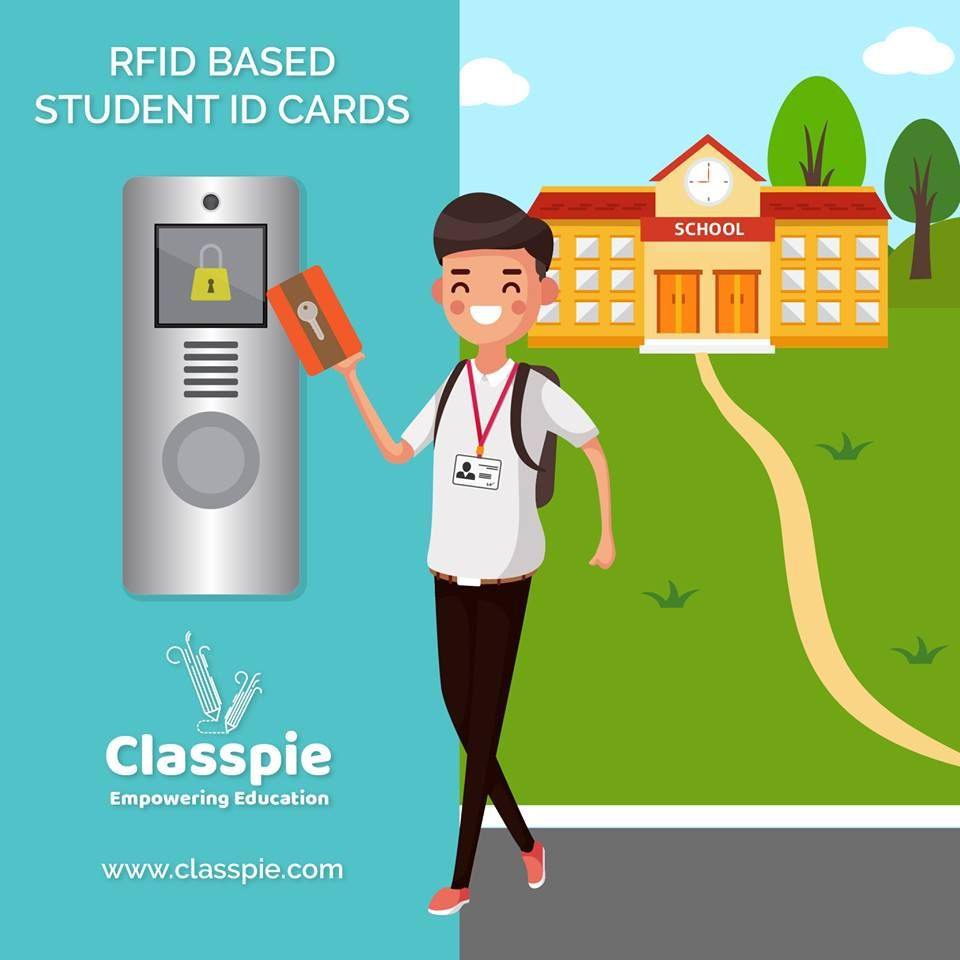 Classpie Has All The Modern Features Embedded In It And With This Smart Rfid Radio Frequency Identification Based A Education Management Erp System Education
