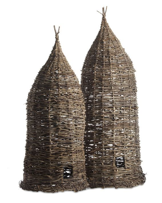 Vintage Bee Skep - Love these for all types of decorating and reuse - make great accent pieces or lighting fixtures!