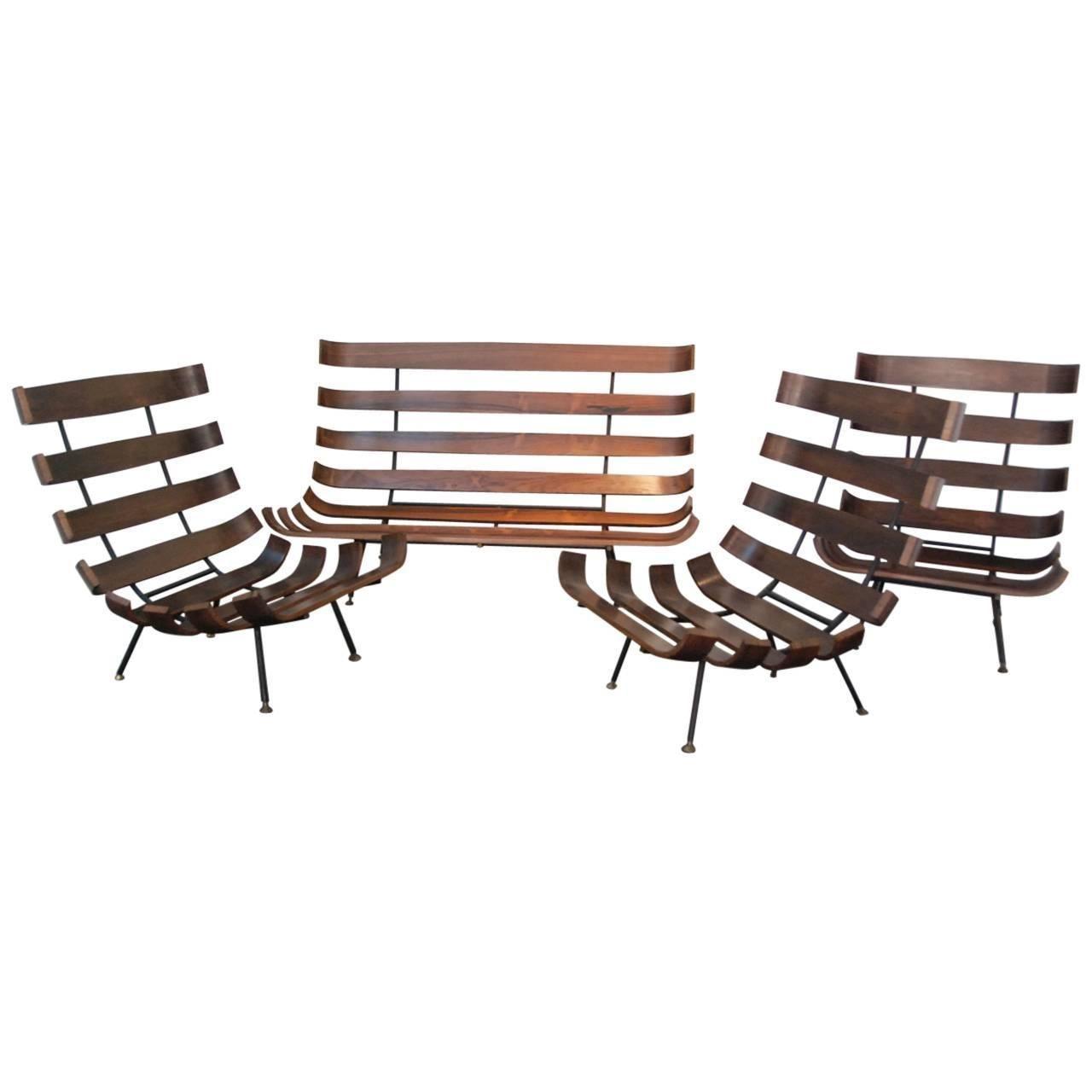 Martin Eisler Set of Four Seats   Room set, Living room sets and ...