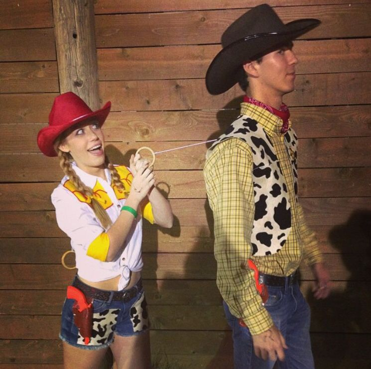 Woody and Jessie Toy Story couples costume  41bbb167441