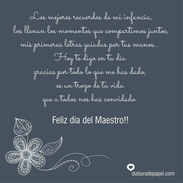 D6679e48ed4ffd56897f8bb71e5610b6 Jpg 736 736 Día De Los Maestros Dedicatorias Para Maestros Mensajes Para Profesores