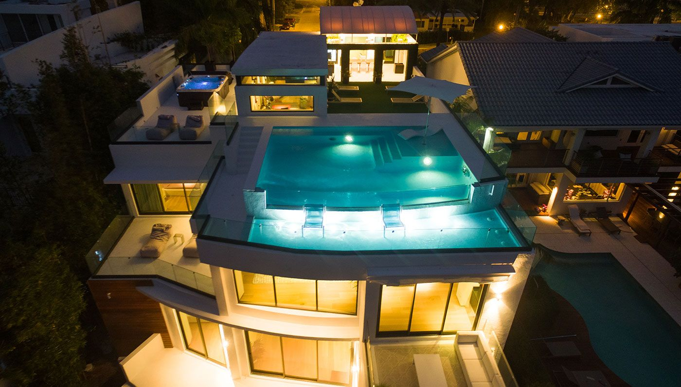 This Has To Be One Of The Best Private Rooftop Pools In Miami