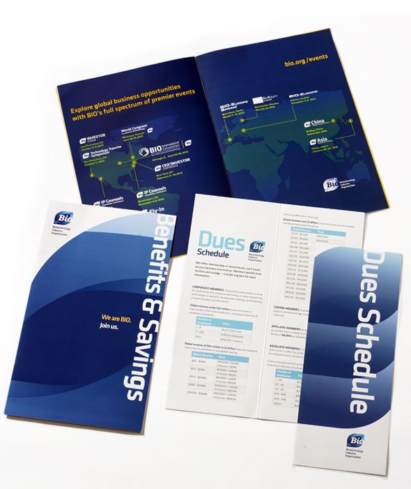 Memebership Marketing collateral Design for BIO My Portfolio