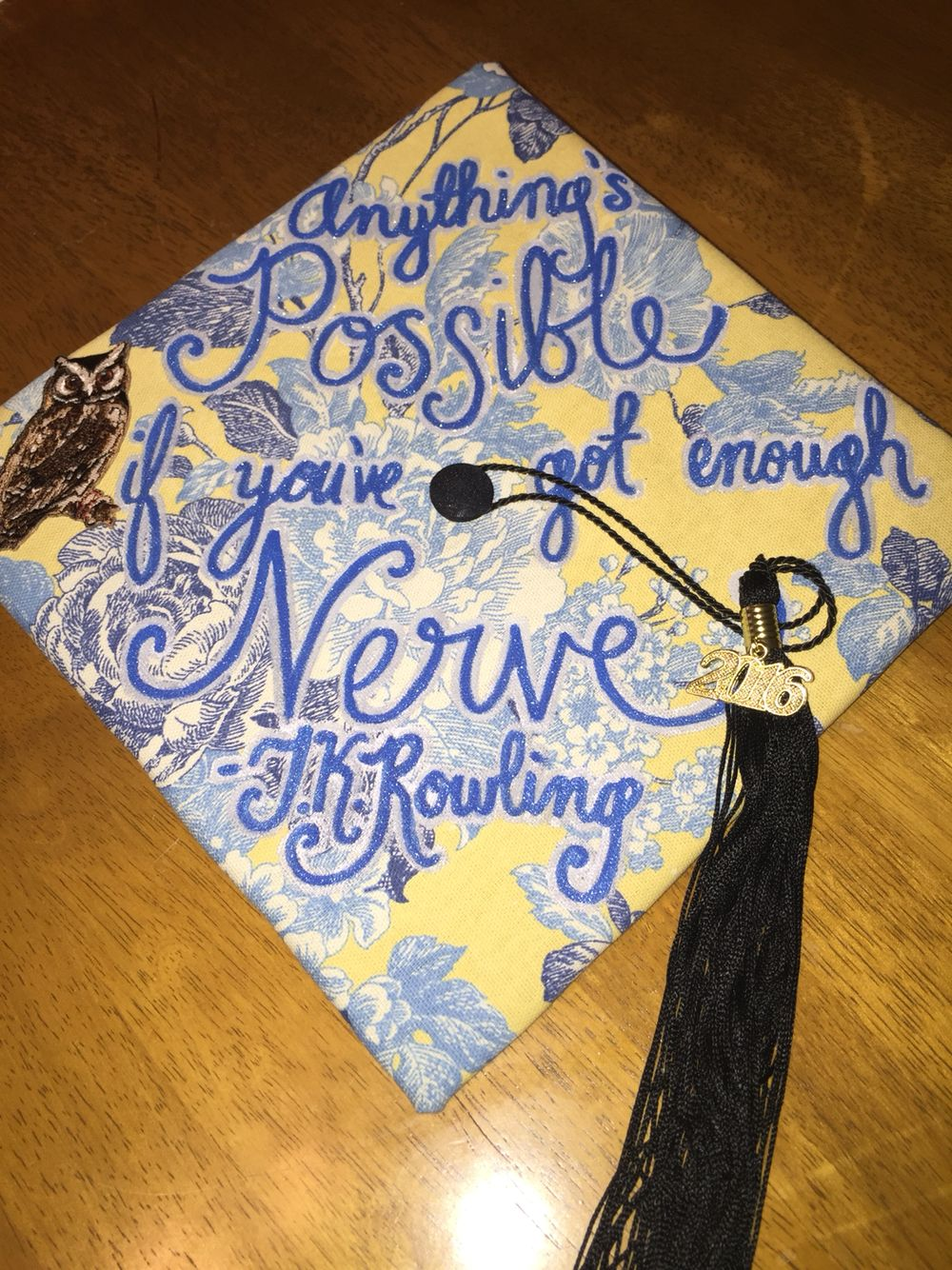 Harry Potter Graduation Cap Love Quotes From J K Rowling Harry Potter Graduation Cap Harry Potter Graduation Graduation Cap Decoration