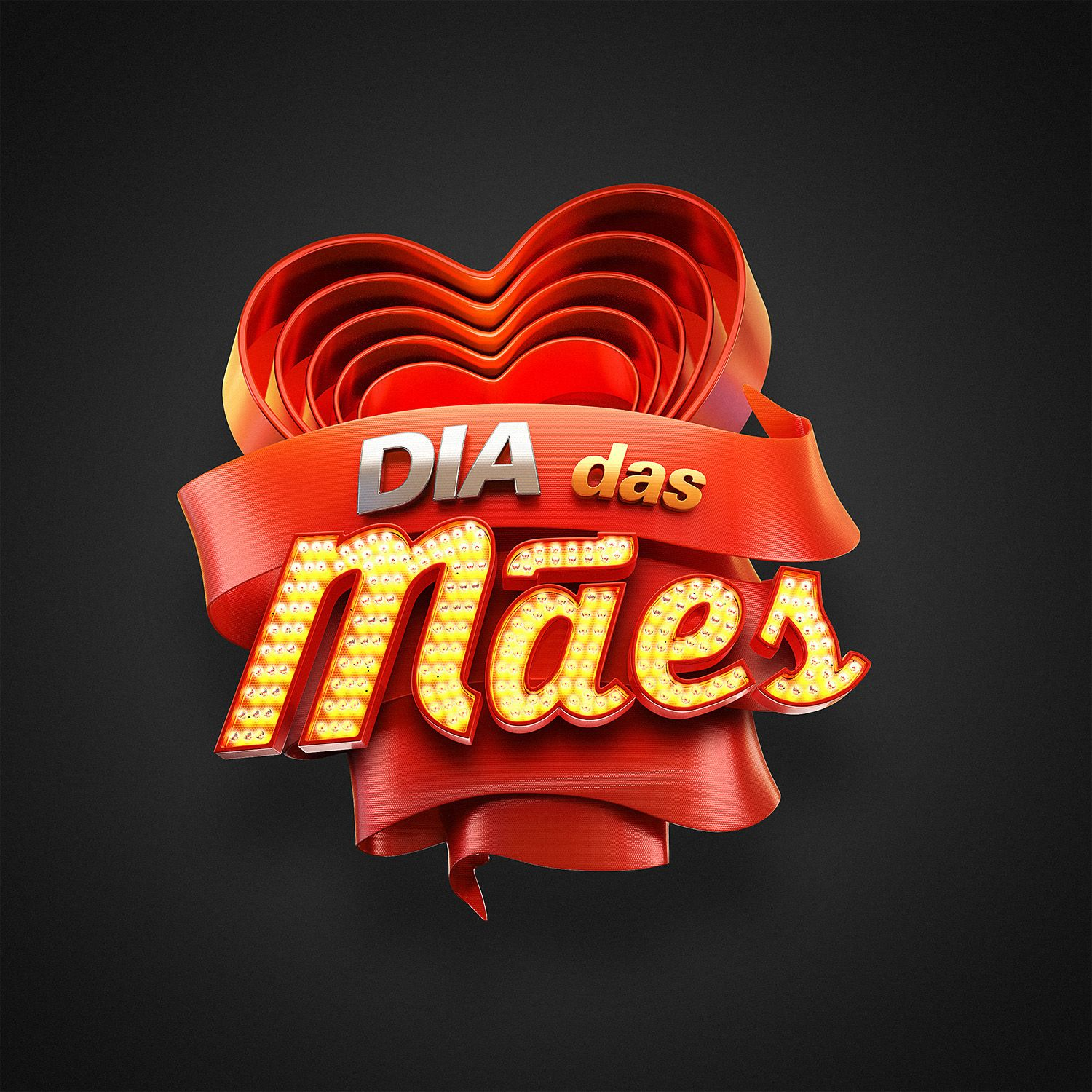 "Check out this Behance project ""Dia das mães Ricardo"