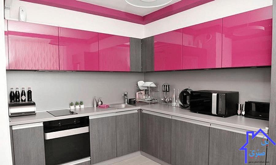 اللامي جلوس I كل ما تريد معرفته عن الخامة بالتفصيل Purple Kitchen Cabinets Modern Kitchen Design Kitchen Cabinet Colors