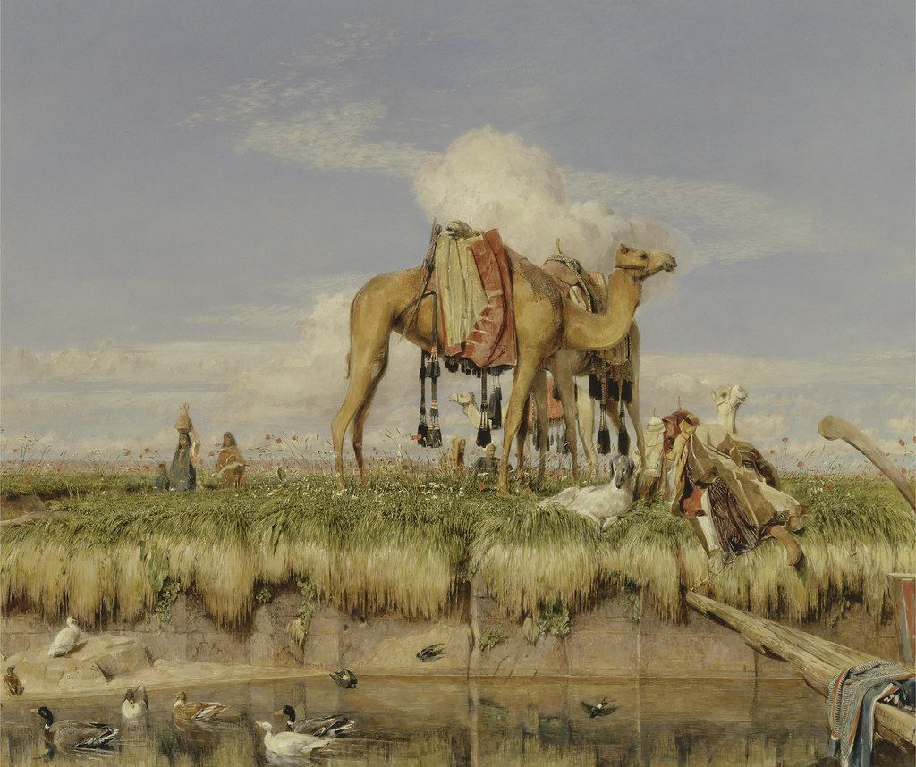 John Frederick Lewis On The Banks Of The Nile Upper Egypt 1873 Google Art Project Art Egypt