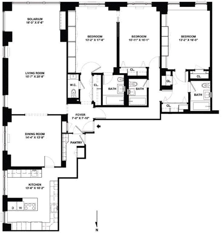 15 East 91st Street 2b New York Ny 10128 Sales Floorplans Property Records Realtyhop In 2020 Floor Plans Apartment Floor Plans Property Records