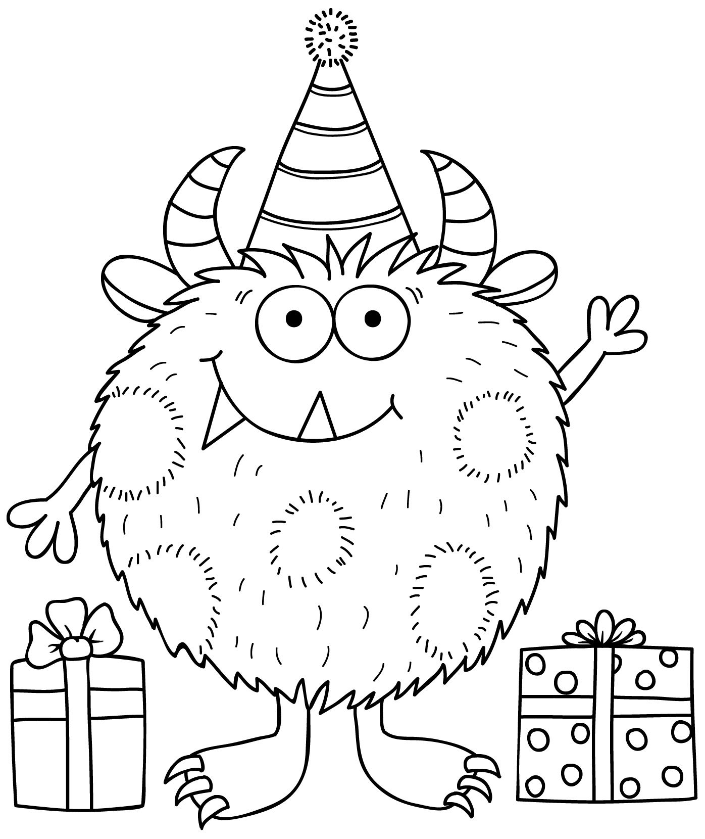 Katehadfielddesigns Google Suche Monster Coloring Pages