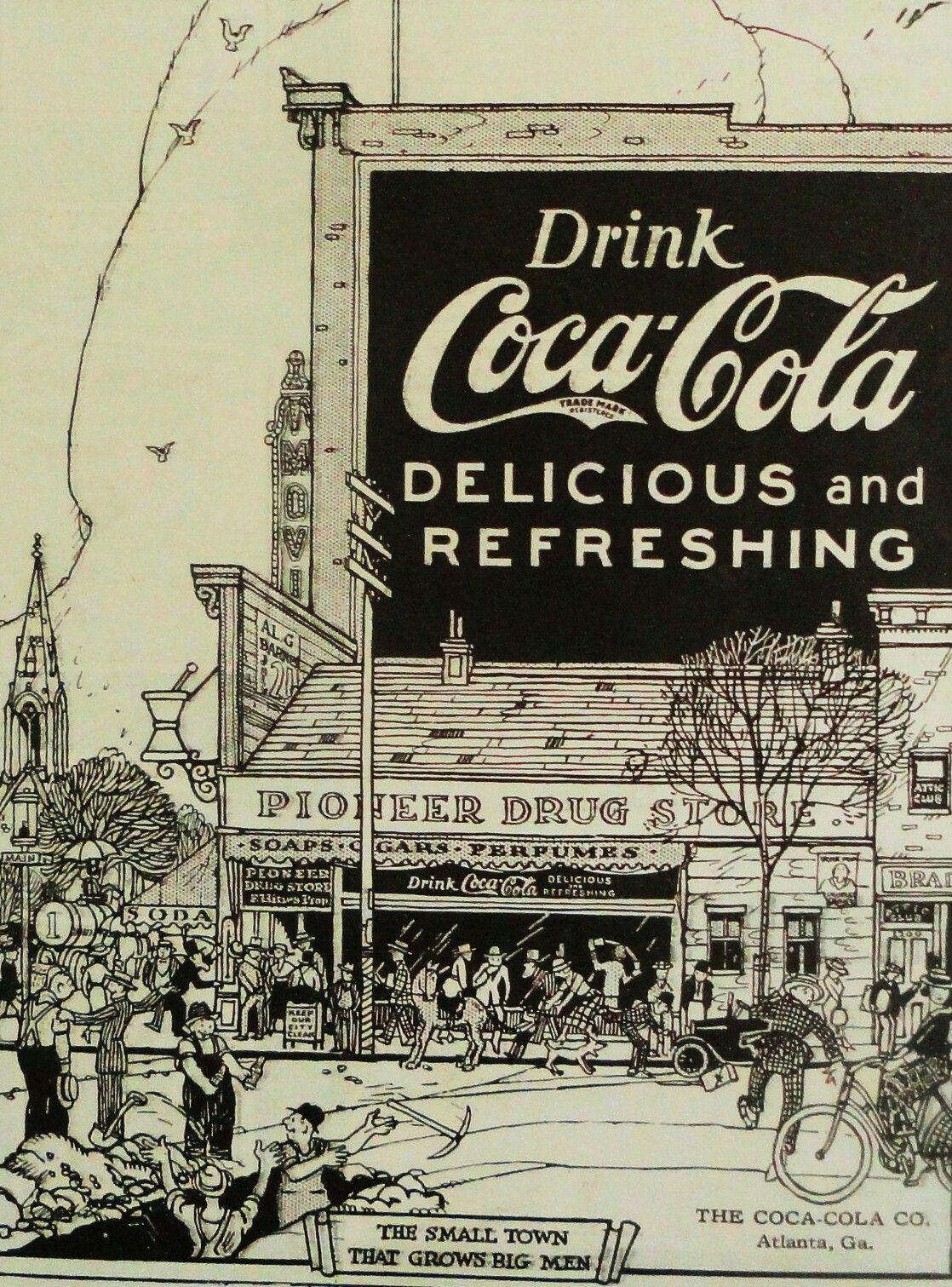 Coca Cola 1921 | Old Coca Cola signs | Coca cola poster