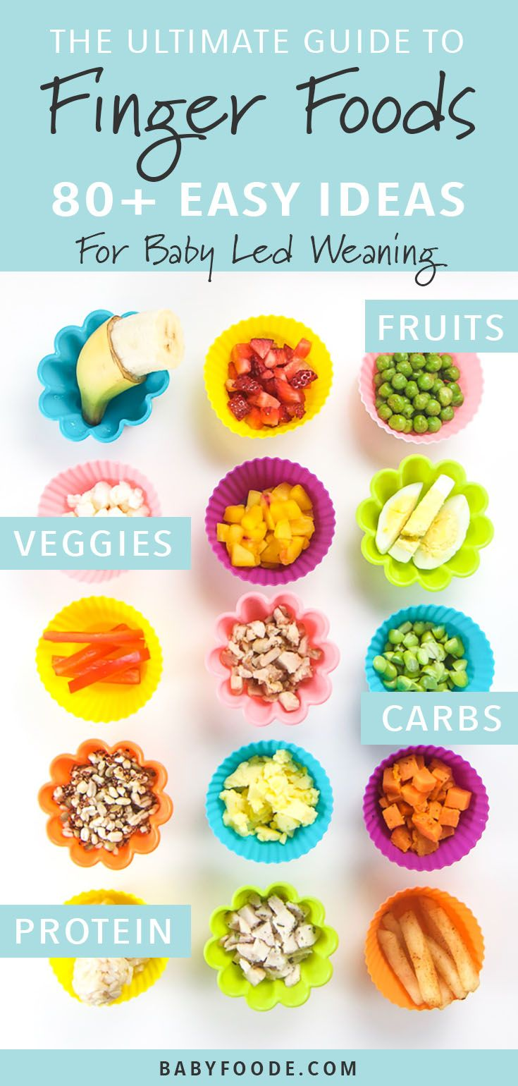The Ultimate Guide to Finger Foods for Baby Led Weaning