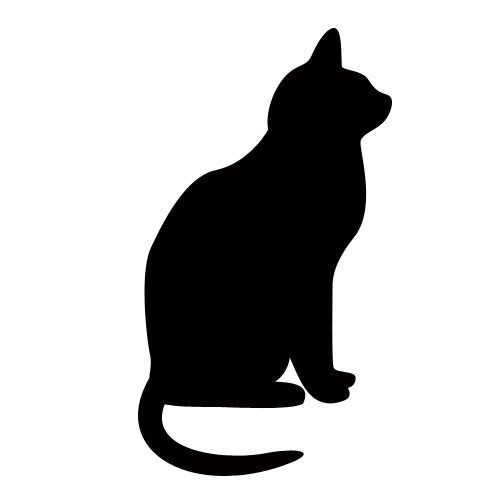 Free Clipart Images Halloween Holidays Black Cat Silhouette Cat Silhouette Cat Clipart