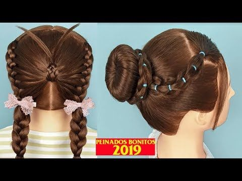 Peinados Faciles Y Rapidos Para Ninas Peinados 2019 Back To