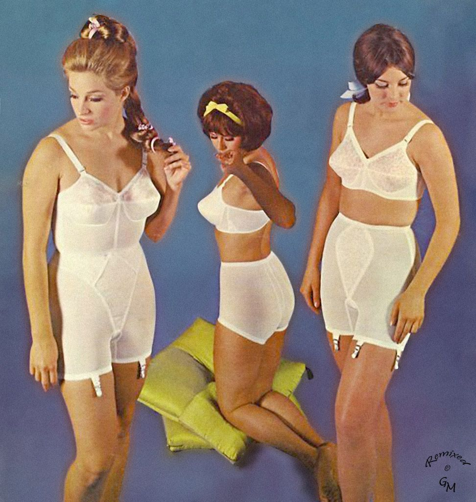 Want 1960s lingerie love big