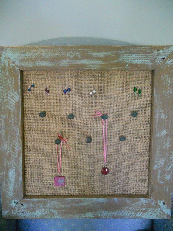 Large wall hanging jewelry holder jewelry displayjewelry organizer