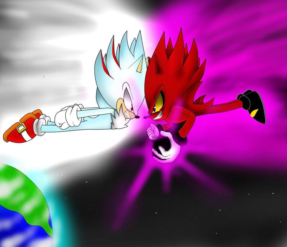Shadic Vs Nazo By Sonicxstar On Deviantart Sonic Art Dark Fantasy Art Sonic Birthday Parties