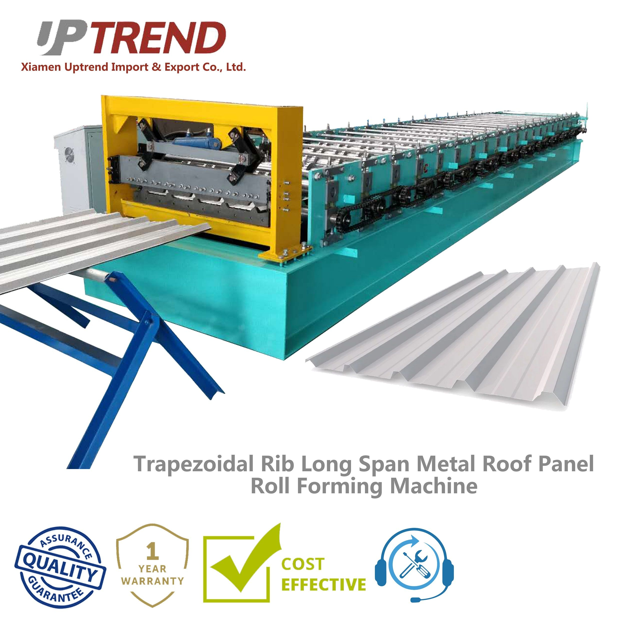 Ibr Metal Roof Trapezoid Panel Roll Forming Machine Metal Roof Panels Metal Roof Cladding Materials