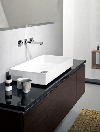 Alape Sink With A Dornbracht Faucet Note That The Sink