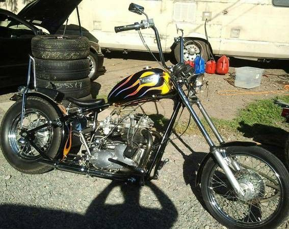 1974 Triumph 750 Chopper For Sale On Craigslist For 1500 00
