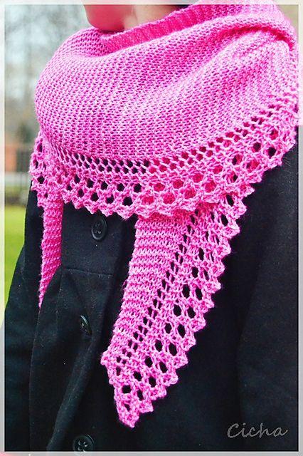 Sweetness and light Shawl pattern by Anna Rauf | Stricken ...