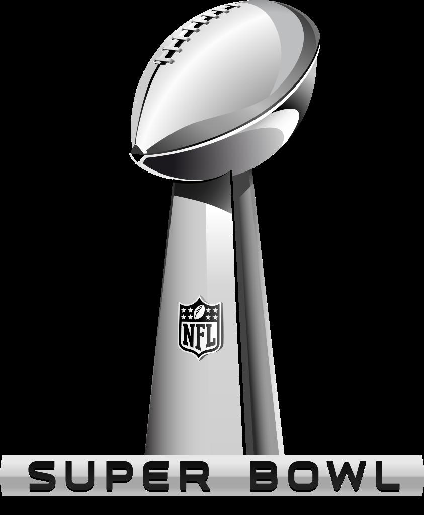 Super Bowl Trophy Coloring Pages Clipart Nfl 1 843x1024