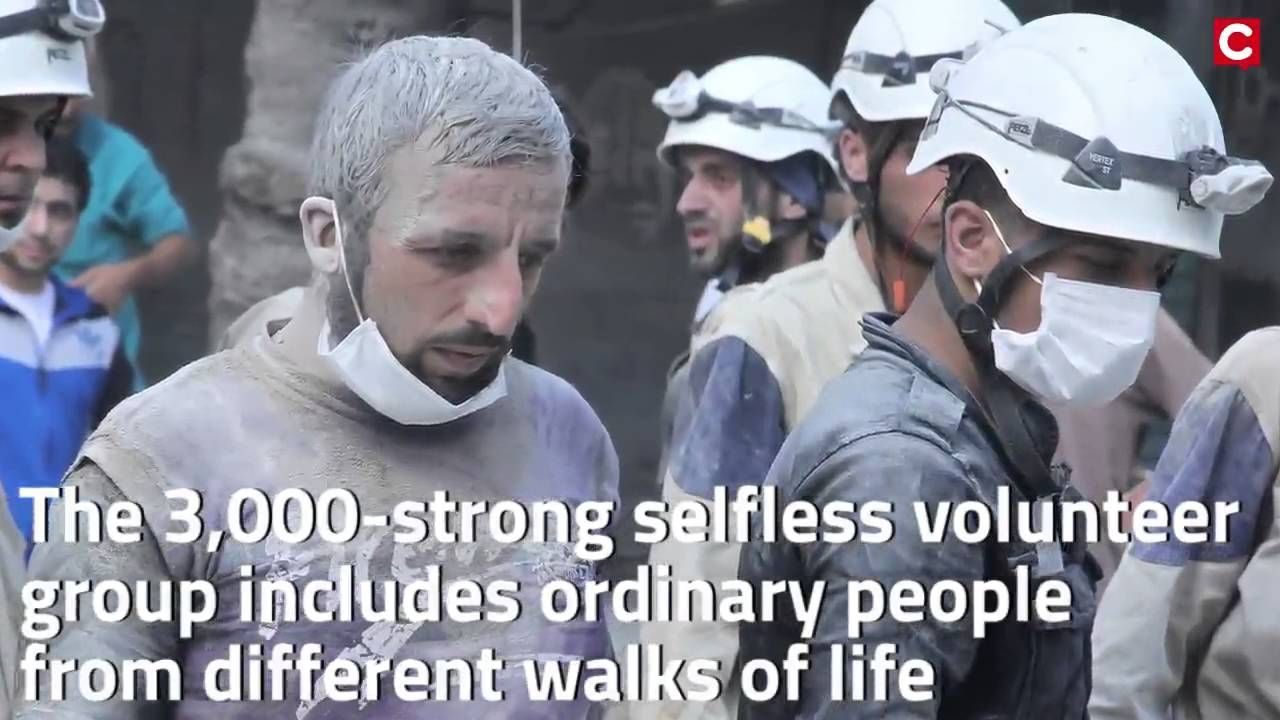 Syrian Rescue Workers 'White Helmets' Nominated For Nobel Peace Prize