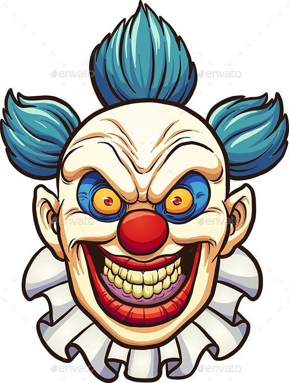 evil clown characters vectors clowns in 2018 pinterest evil