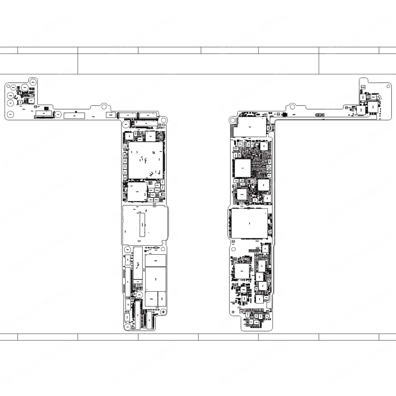 Qualcomm Version Schematic Diagram  Searchable Pdf  For Iphone 8 Plus Please Just Download It