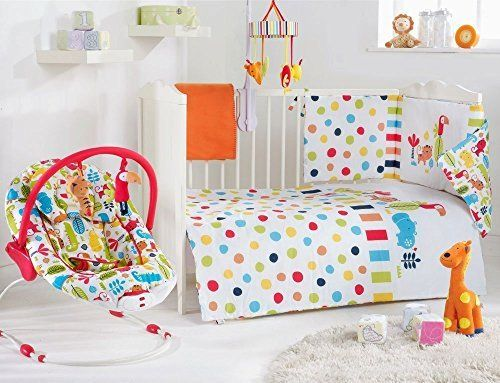 Red Kite Baby Cosi Cot 4 Piece Bedding Set Safari Co Uk Nursery Pinterest Cots And