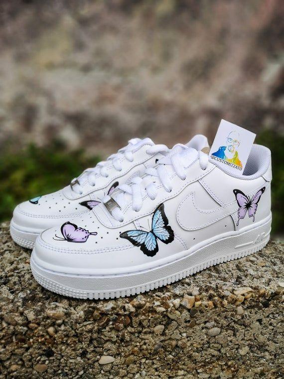 air force 1 papillon