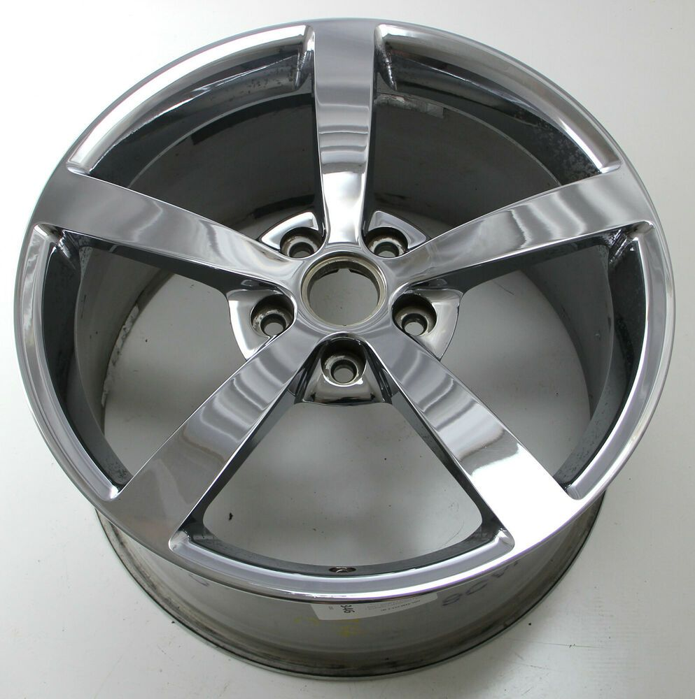 Advertisement Ebay 19 Chevrolet Corvette C6 Chrome Used Wheel