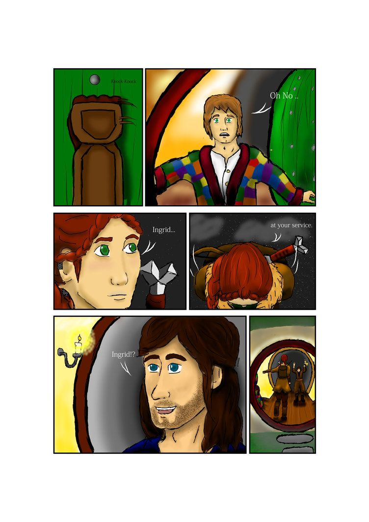 The Journey to Erebor Ch. 1 pg. 2