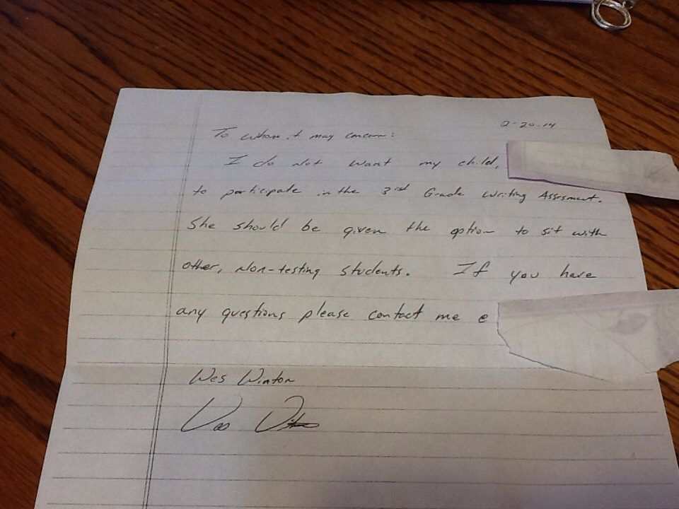 A frustrated email from a teacher sent to the parents of his