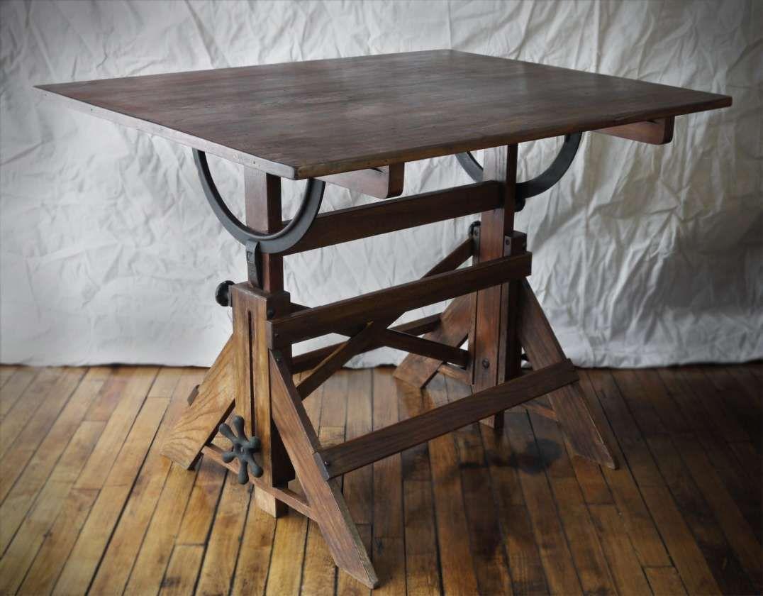 9 splendid vintage wood drafting table gallery wooden