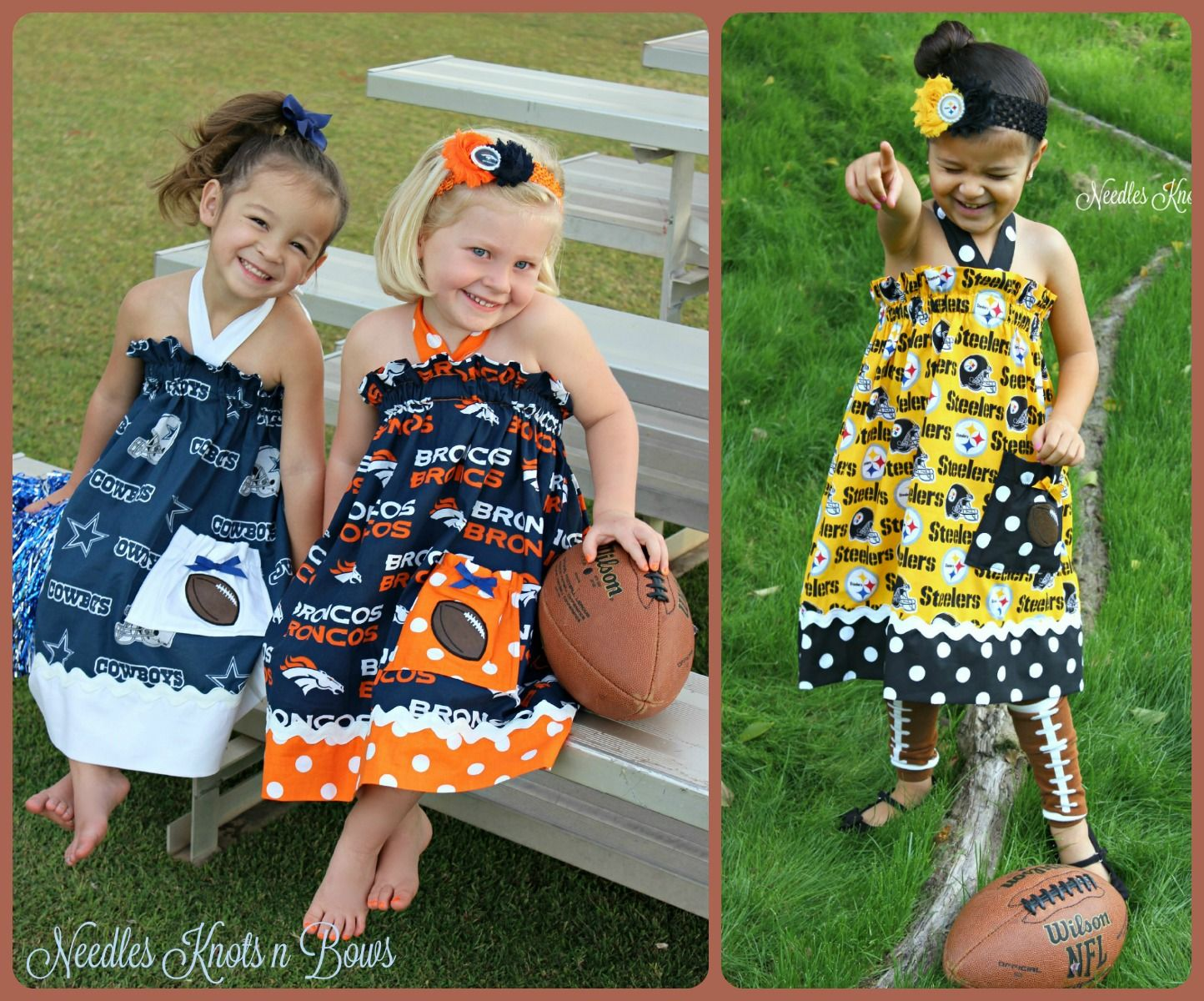 aeaa4ac0 Summer dress size 4 footballs | denver broncos football | Football ...
