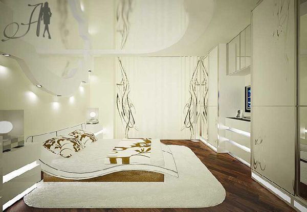 Futuristic Bedroom Designart Deco White Color  Home Decor And Unique Art Deco Bedroom Design Ideas Decorating Design