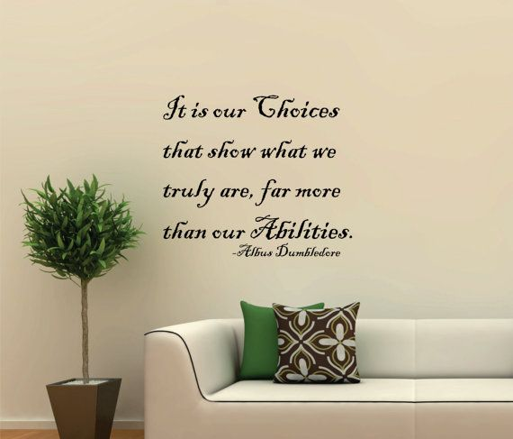 Choices Quote Harry Potter
