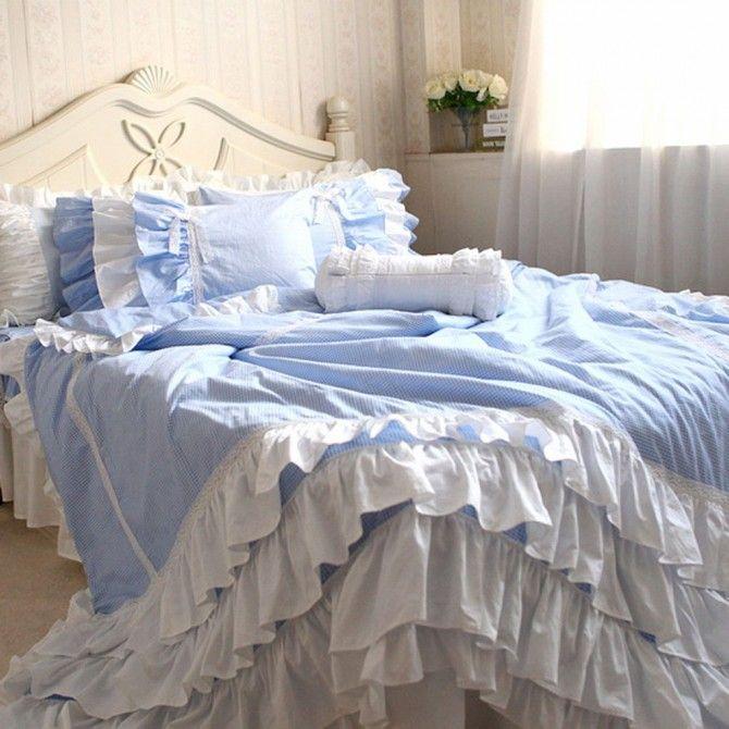 Blue Gingham Set Beautiful Bedding Sets Duvet Cover Sets Luxury Bedding Sets