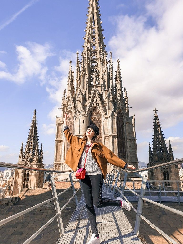 Barcelona Cathedral Such A Beautiful View Perfect Instagram Spot Spain Travel Barcelona Spain Travel Places To Go