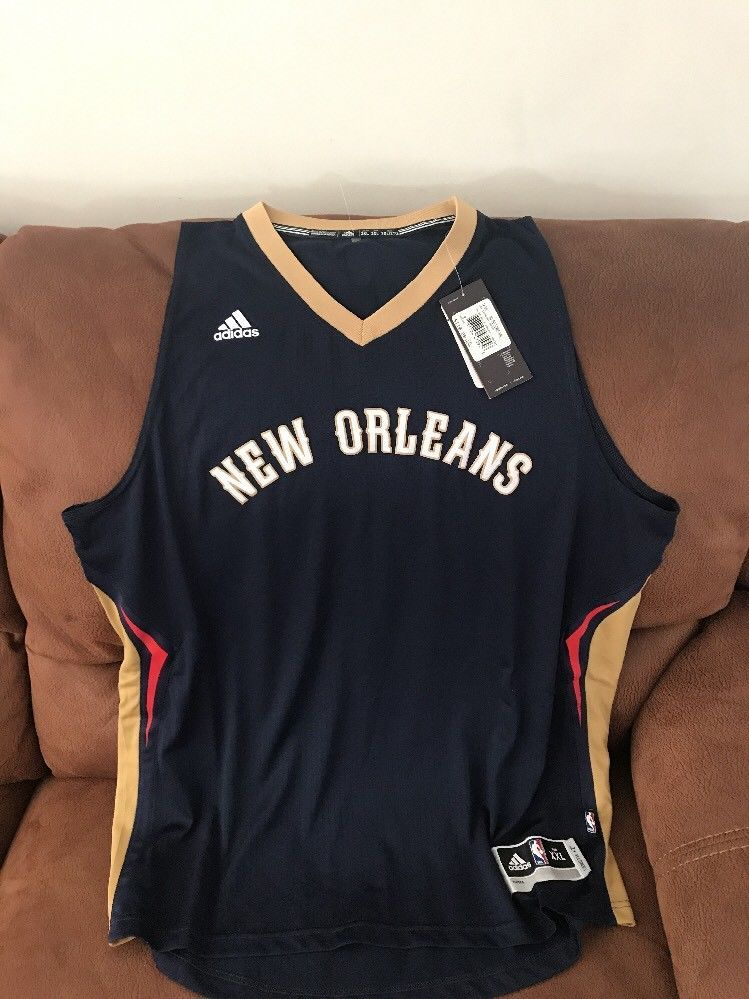 Adidas new orleans pelicans blank nba jersey nwt size 2xl