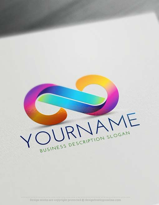 Free 3D Logo Maker - Infinity Logo Creator | Logo design and