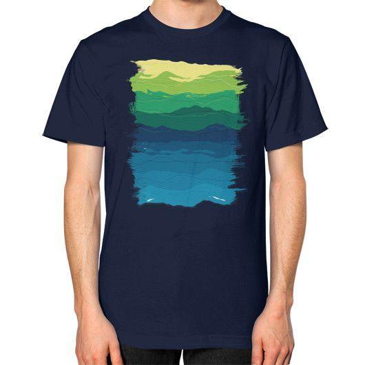 Ripple Unisex T-Shirt (on man)