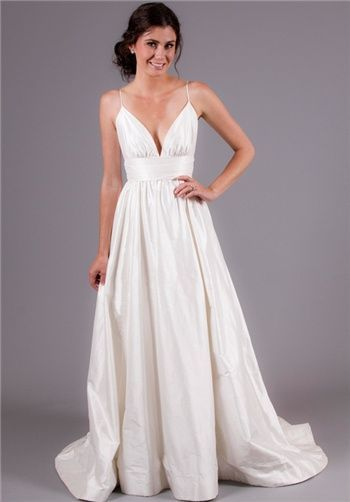 Spaghetti Strap Bodice Available With A Variety Of Skirt Styles - Spaghetti Strap Wedding Dresses