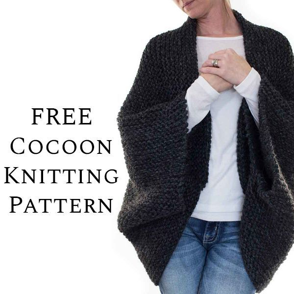 {FREE} MEDITATION : Cocoon Blanket Sweater Knitting Pattern - Brome Fields #blanketsweater Grab the FREE MEDITATION : Cocoon Blanket Sweater Knitting Pattern. This is a great beginner Scoop Shrug knitting pattern, knit flat using the garter stitch #blanketsweater