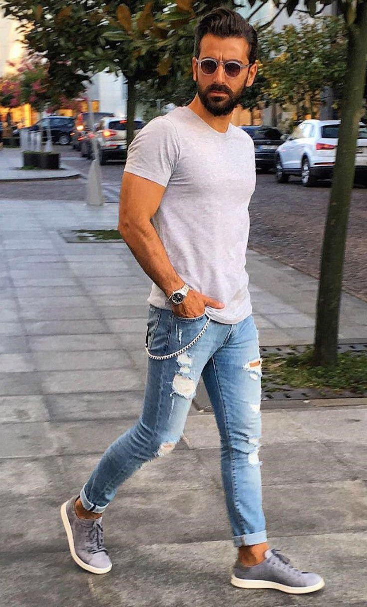 To acquire Jeans men Fashion foto picture trends